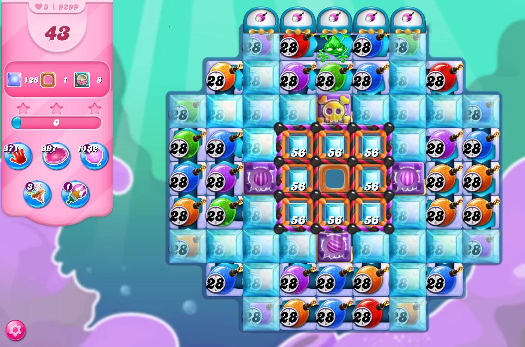 Candy Crush Saga level 9299