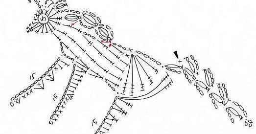 Solo esquemas y diseños de crochet: MAS APLIQUES DE ANIMALES