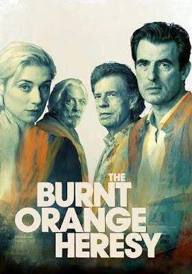 The Burnt Orange Heresy 2020 DVD R1 NTSC LATINO
