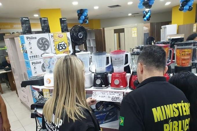 COMÉRCIO: Mais de 30 lojas de João Pessoa são notificadas por maquiar preços de produtos na Black Friday.