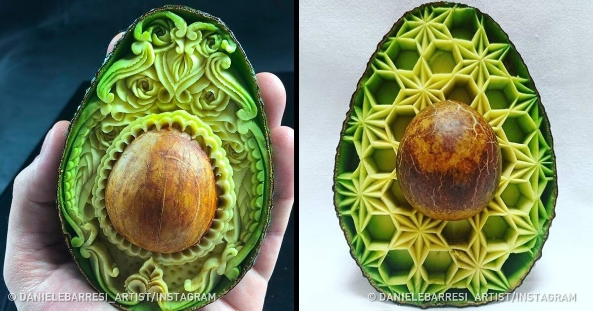 Artists Have Transformed Fruits And Vegetables Into Amazing Works Of Art