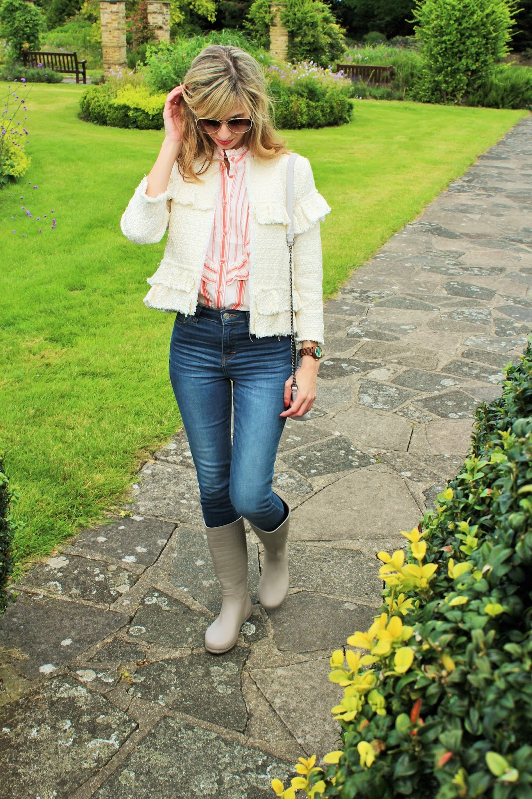 Rain or Shine 4 - OOTD featuring Topshop, Zara and Butterfly Twists