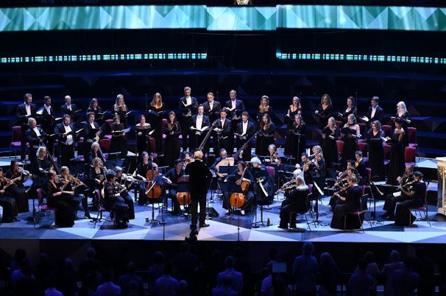 Handel: Dixit Dominus - Monteverdi Choir, English Baroque Soloists, Sir John Eliot Gardiner - BBC Proms (Photo Chris  Chris Christodoulou/BBC)