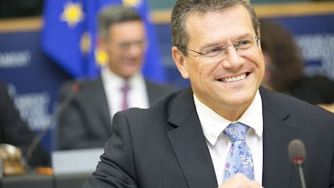 A cseh és a szlovák államfő támogatja Sefcovic jelölését az EU vezető tisztségére