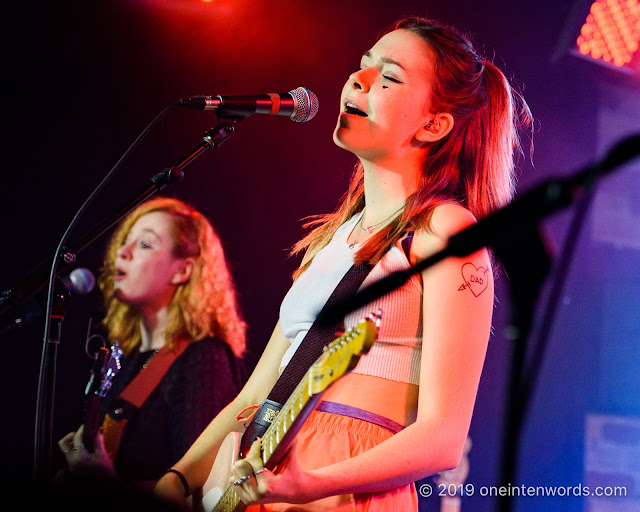 The Regrettes at Velvet Underground on October 8, 2019 Photo by John Ordean at One In Ten Words oneintenwords.com toronto indie alternative live music blog concert photography pictures photos nikon d750 camera yyz photographer