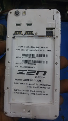 Zen Admire Glam Stock Rom Firmware SP7731_6 0 Tested Flash File