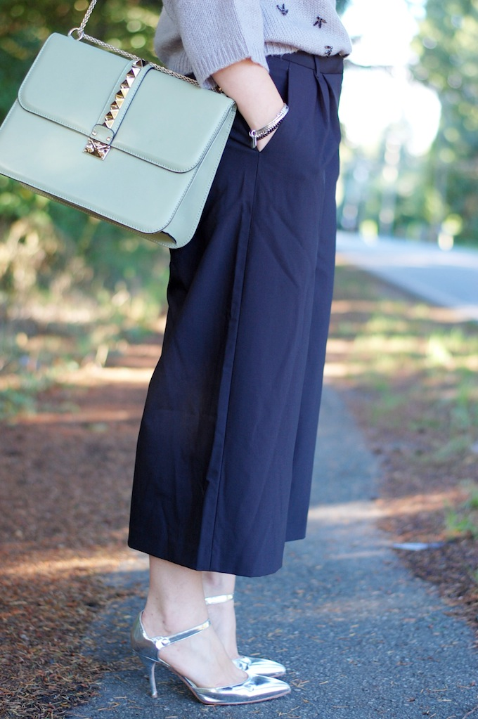 Tibi culottes outfit  Vancouver fashion blogger