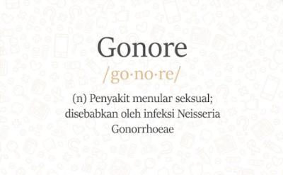 Tanda dan Gejala Gonore