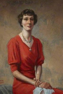 Laura Ina Madeline Lenox-Conyngham circa 1940 (from the National Trust Collections)