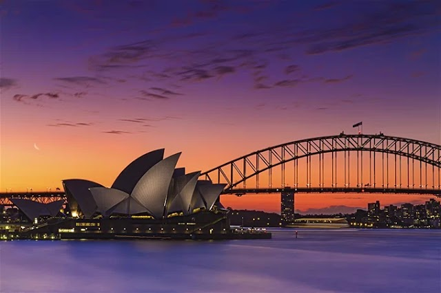 Coming to Australia, immersed in the scenery of 7 tourist cities