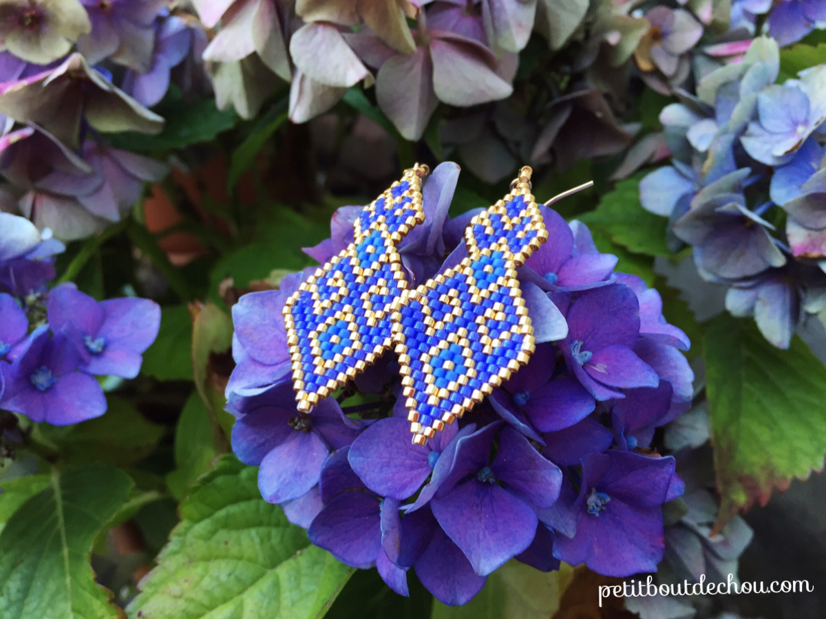 Diy Laotian Inspired Earrings Petit Bout De Chou
