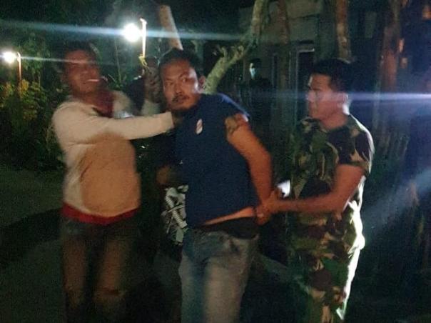 Aniaya Warga, SN Ditangkap dan Dibawa ke RSJ Banyumas