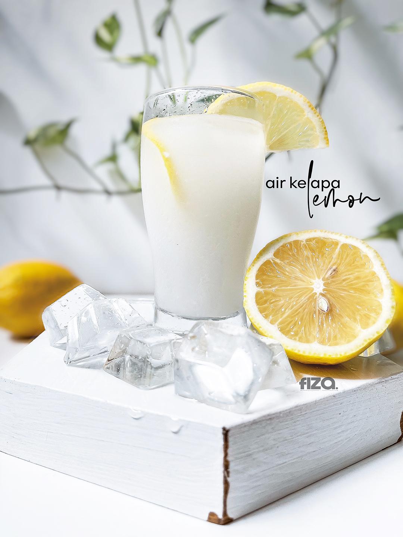 Air Kelapa Pandan Lemon
