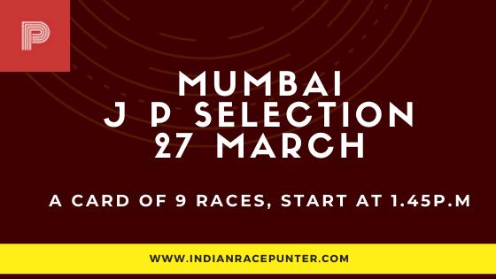 Mumbai 2nd Jackpot Selections 27 March