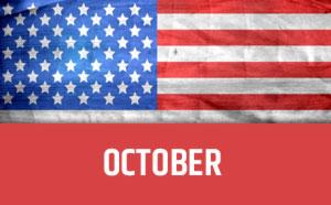 October usa calendar