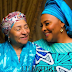 Beautiful new photos of former first lady, Maryam Abacha and her daughter Gumsu