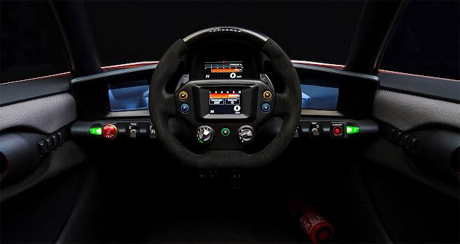 Nissan BladeGlider cockpit