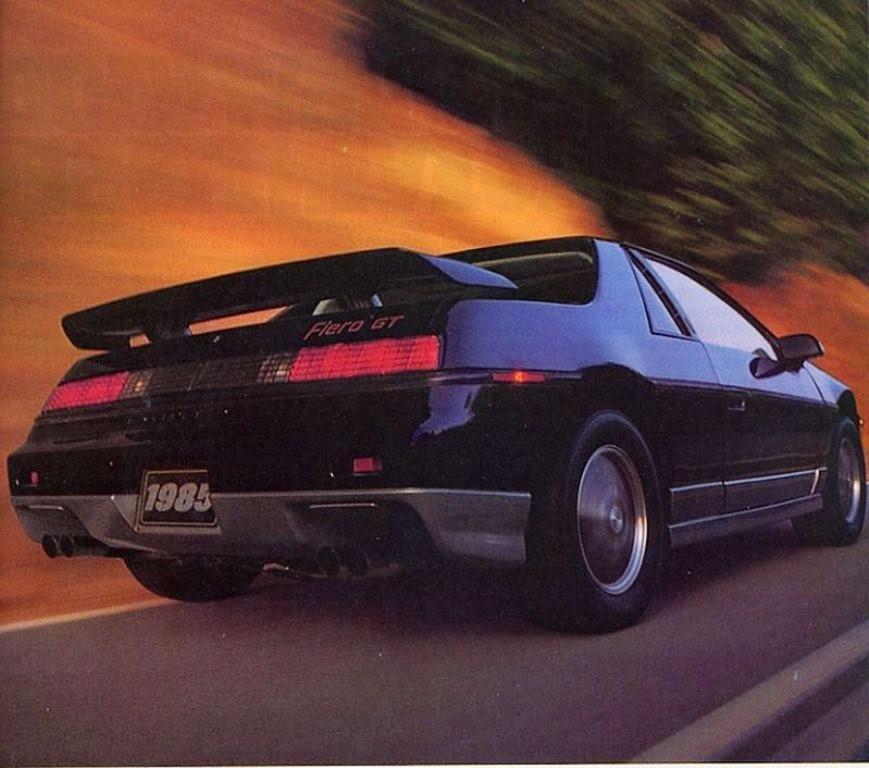 All American Classic Cars: 1985 Pontiac Fiero GT 2-Door