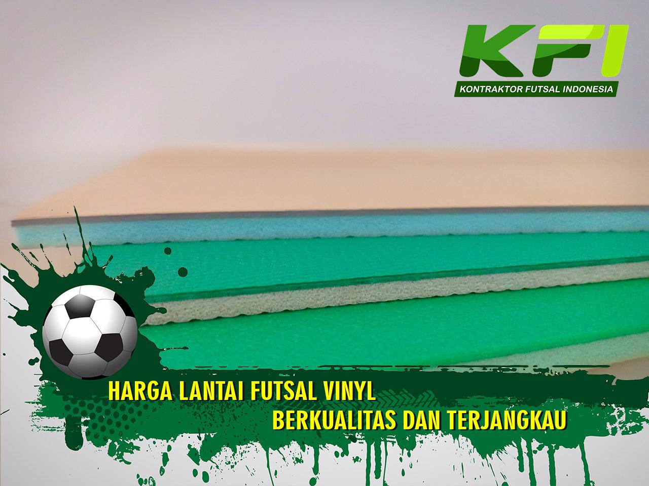 Harga Lantai Futsal Vinyl Berkualitas