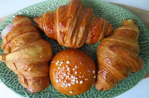 Tiong Bahru Bakery, croissant brioche