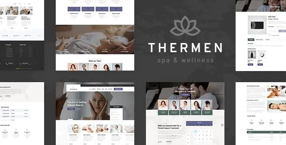 Responsive WordPress Theme for Spa Wellness Business