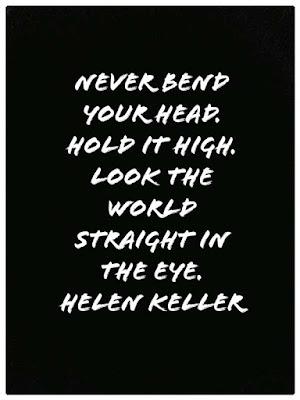 Helen Keller thoughts