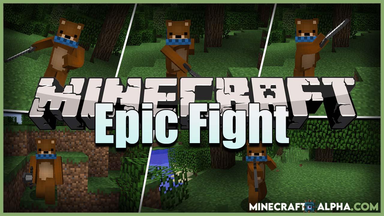Minecraft Epic Fight Mod 1.16.5/1.12.2 (Combat Stances, New Animations)