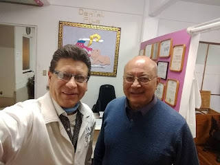 Con el Maestro y Coach Silvano Leonardo