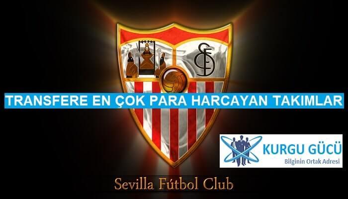 Transfere En Çok Para Harcayan Takımlar - Sevilla - Kurgu Gücü