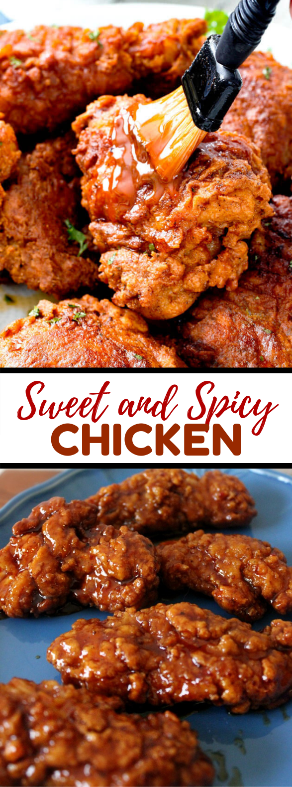 SWEET AND SPICY CHICKEN RECIPE #dinner #20minutes