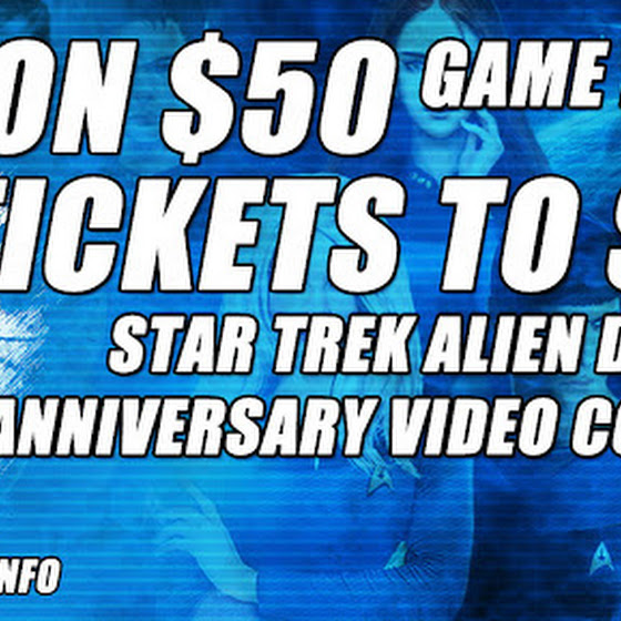 Won 50 USD Worth Of In-Game Items ★ 2 Tickets To Star Trek Beyond ★ Star Trek Alien Domain