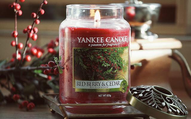 Red Berry & Cedar Yankee Candle - czy to zapach tylko na zimę? - Czytaj więcej »