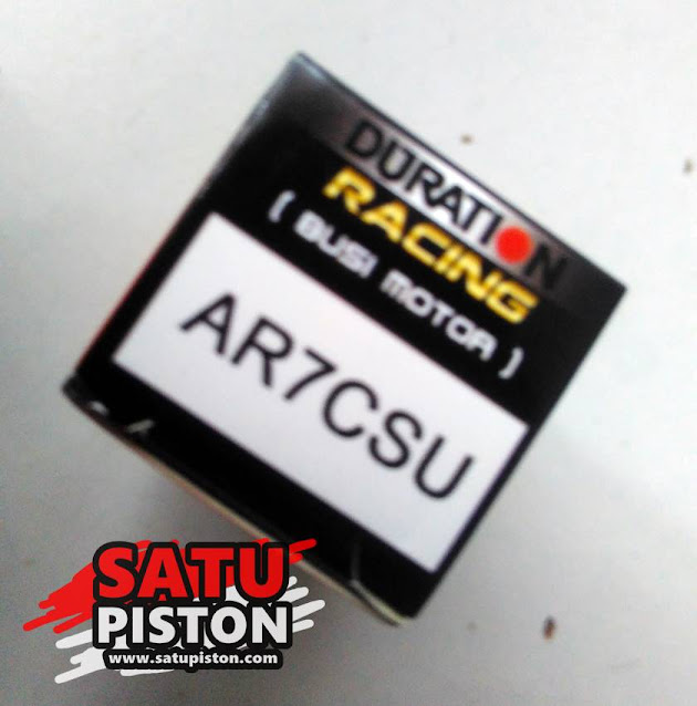 Review Busi Duration Racing AR7CSU, Alternatif NGK C7HSA dan Denso U22FS-U