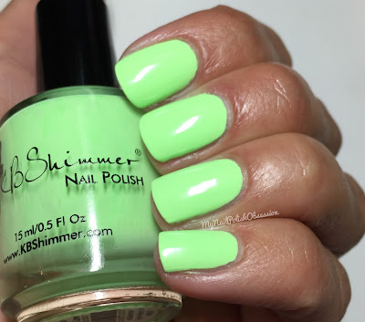 KBShimmer Summer 2016; Ready For A Good Lime