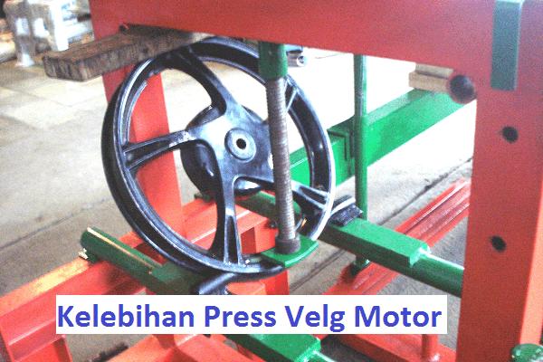 menjadi pilihan banyak pengendara tak kala velg motor peyang atau penyok Kelebihan Press Velg Motor Peyang ini Bikin Hemat Biaya