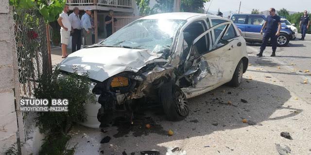 Σοβαρό τροχαίο ατύχημα στο Κεφαλάρι Άργους