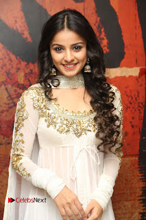 Telugu Actress Mahima Makwana Stills in White Desginer Dress at Venkatapuram Movie Logo Launch  0049.JPG