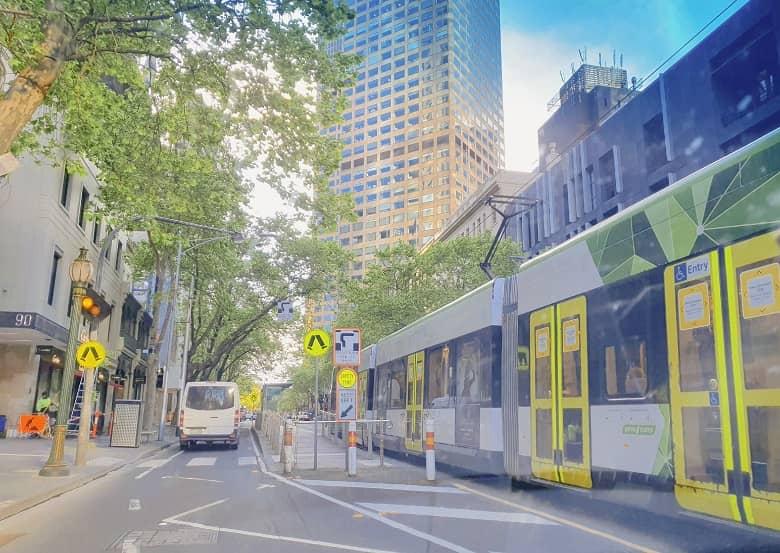 free tram ride around Melbourne