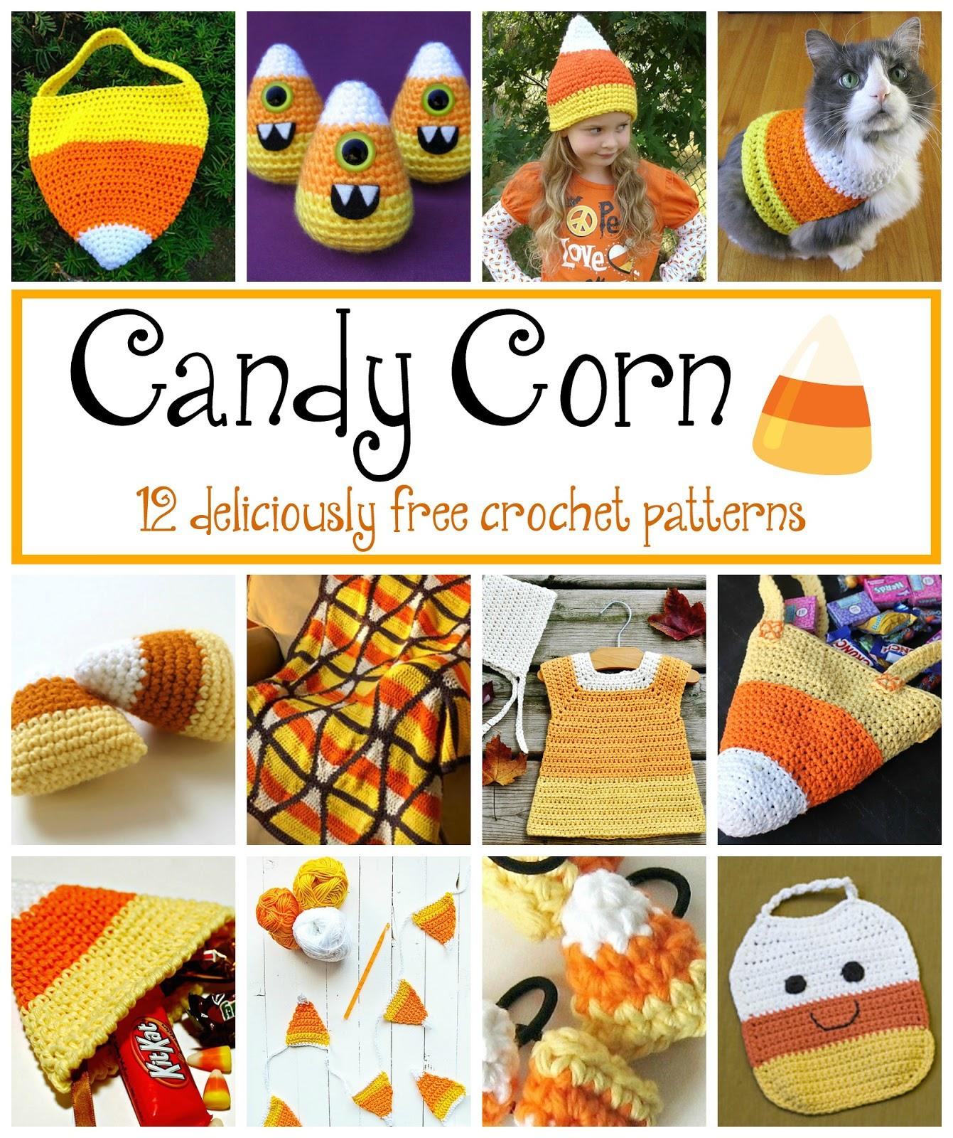 Fiber Flux: Candy Corn! 12 Free Crochet Patterns...