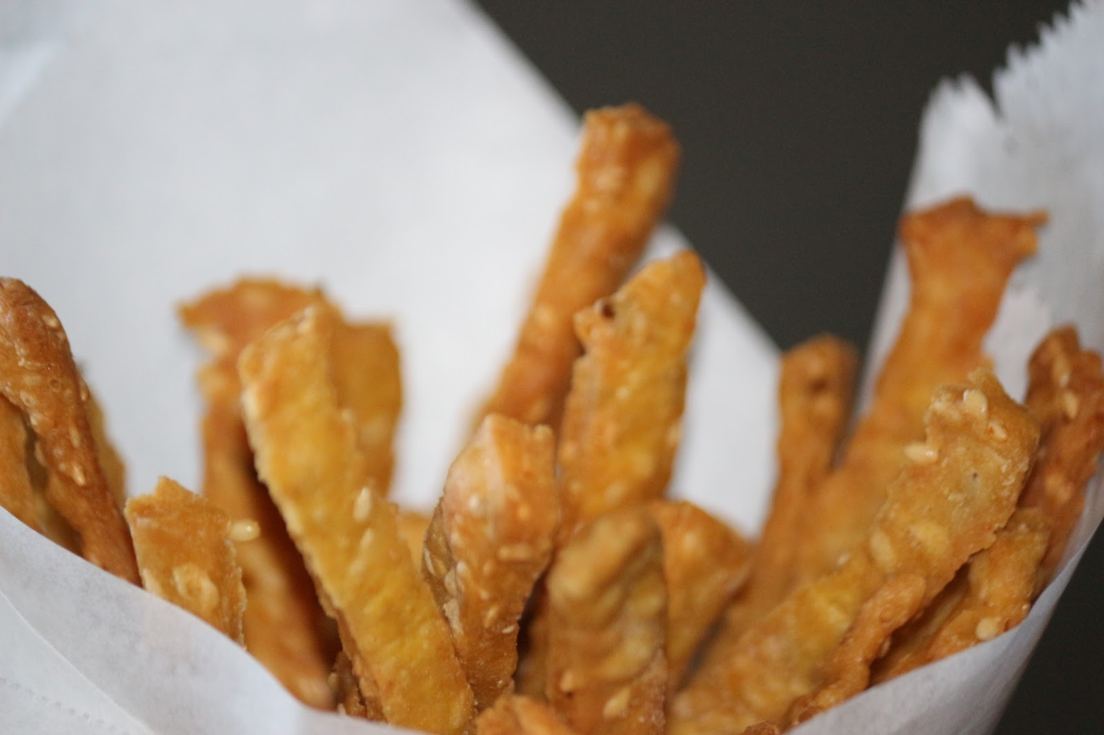 Megha's Creations: Recipe - Homemade Sesame Sticks (Tea time snack)