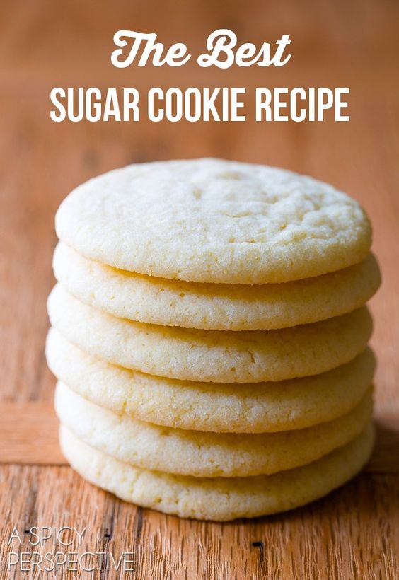 *****The Best Sugar Cookie Recipe #thebestcookie #thebestsugarcookierecipes #cookies #cookierecipes #sugar