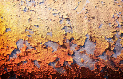 Rust Abstract Fineart Wallprint to buy