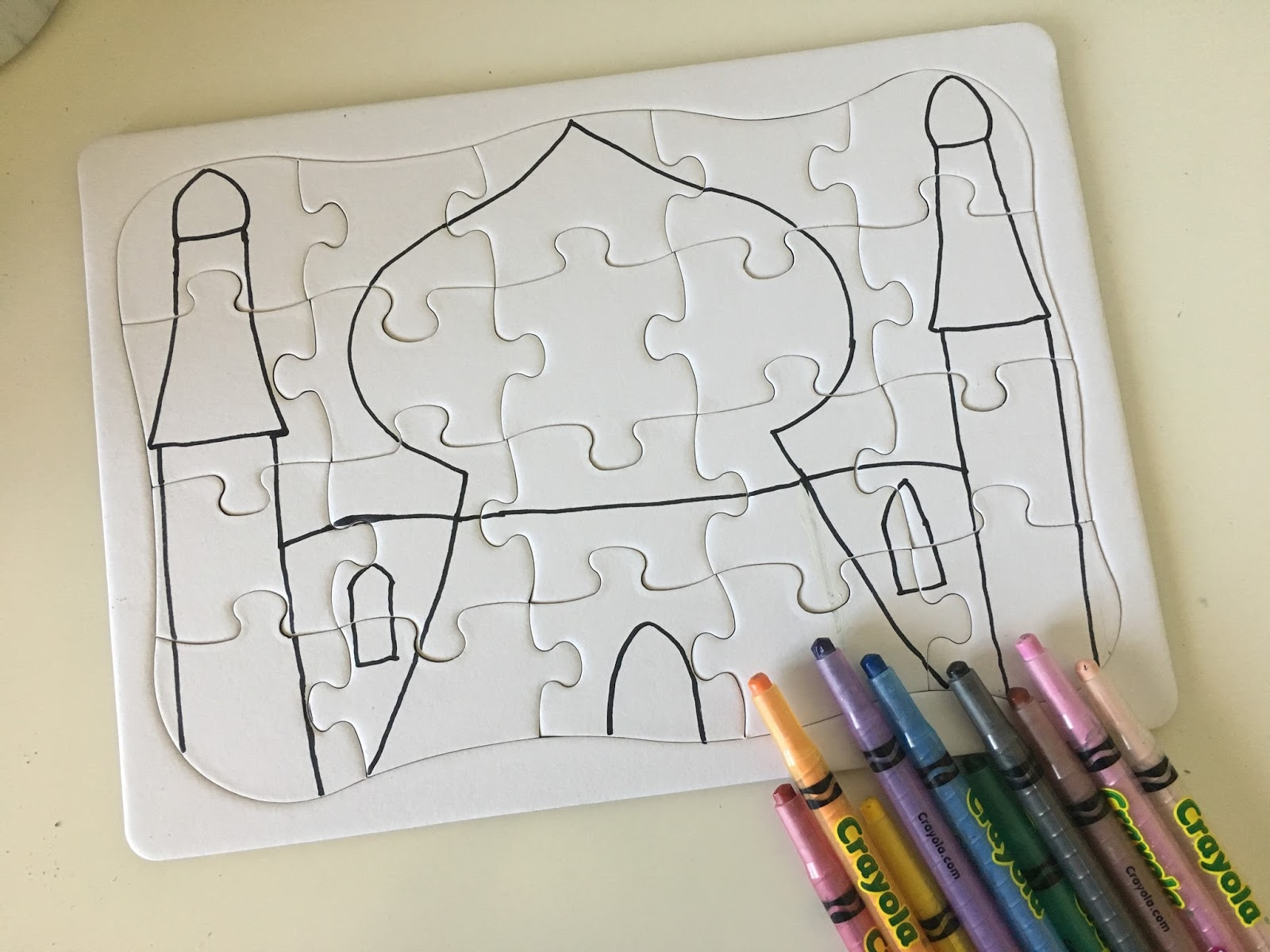 create your own puzzle islam from the start