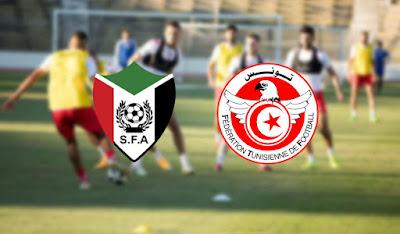 بث مباشر مباراة تونس والسودان