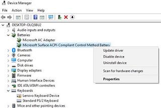 Perbaiki Masalah No Battery Is Detected Di Laptop Windows 10