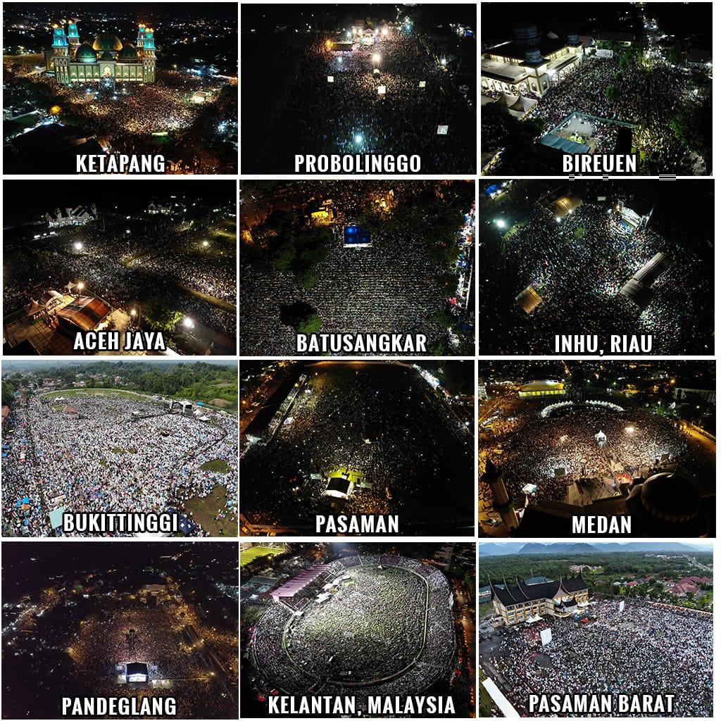 Penampakkan 36 Foto Jamaah Kajian UAS, Bukti Ummat Islam Damai