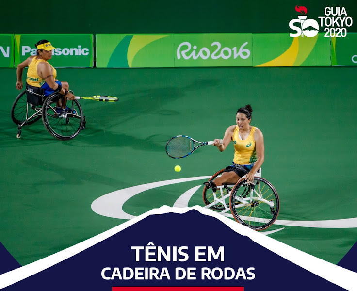 Quais são as provas do tênis em cadeira de rodas nas Paralimpíadas de Tóquio