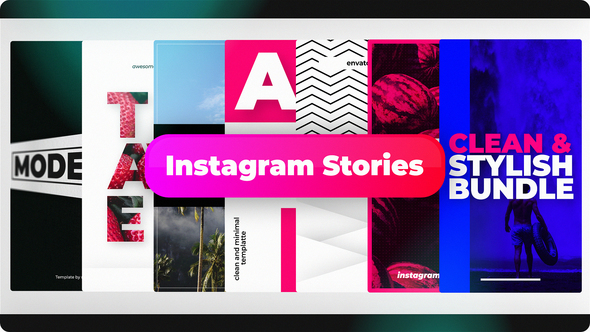 Stylish Instagram Stories | Free After Effects templates