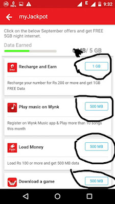 Airtel de rha hai 5 gb data free