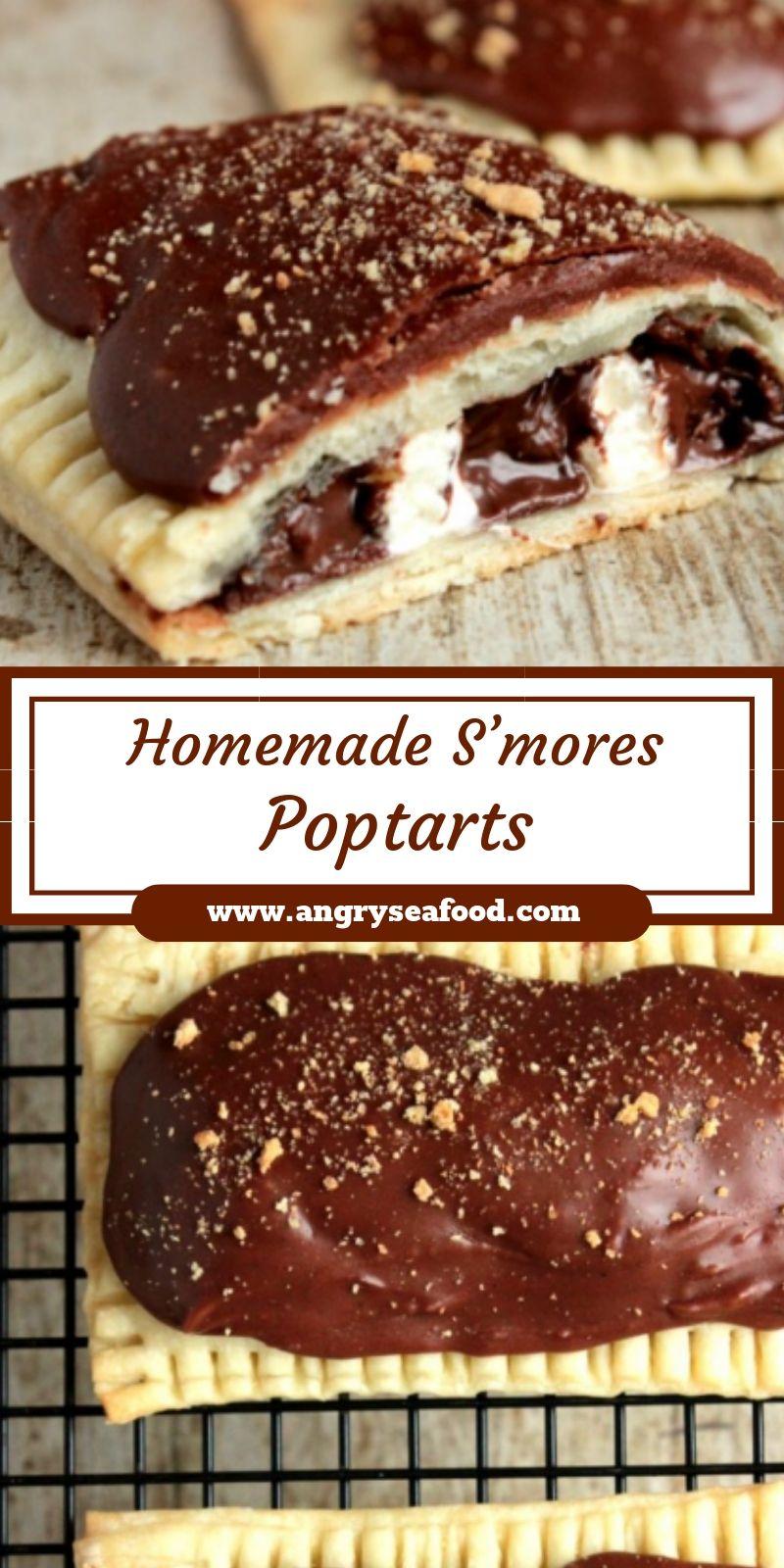 Homemade S'mores Poptarts